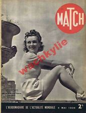Match n°44 du 04/05/1939 combats de coq Angleterre Gafenco Roumanie maréchaux