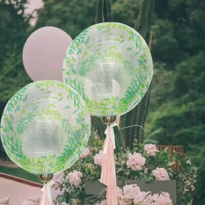 20''Printed Bobo Ball Rose Sequin Balloon Birthday Wedding Party Decoration 2021