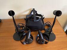 Oculus Rift CV1 Virtual Reality Headset with Controllers & Sensors - Black
