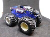 """Hot Wheels Monster Jam """"Predator"""" Blue Frame Die Cast Monster Truck"""