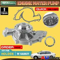 Water Pump For Holden Commodore V6 VN VP VR VS VT VU VX w/ Gasket V6 3.8L 88-04