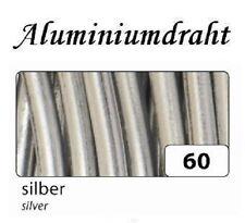 (1m=0,72€) Aluminiumdraht Aludraht Draht 2mm x 5m in 7 Farben wählbar