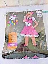 Hello Kitty Sexy Pink Costume Dress Only  Juniors MEDIUM 7-9 Halloween Cosplay