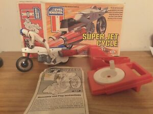 ORIGINAL ''EVEL KNIEVEL'' SUPER JET CYCLE BY IDEAL
