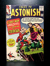 COMICS: Tales To Astonish #58 (1964), origin & 1st Colossus app - (antman)