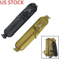 US Tactical MOLLE Backpack Shoulder Strap Attachment Pouch Outdoor Accessory Bag