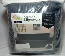 Easy-Going Stretch Sofa Slipcover Sofa Cover Furniture Protector Couch Dark Gray