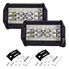 2x168W 5Inch LED Work Light Bar Combo Beam UTE Boat Driving Offroad ATV Fog Lamp