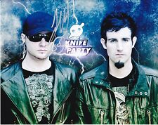 Knife Party Gareth Mcgrillen Autographed 8x10 Photo (Reproduction)