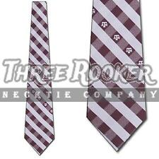 Texas A&M Aggies Tie Aggies Neckties Mens Licensed Football Neck Ties NWT