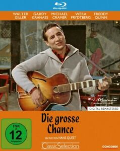 Die große Chance [Blu-ray/NEU/OVP] Schlagerfilm mit Freddy Quinn, Walter Giller,