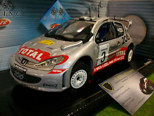 PEUGEOT 206 WRC 2002 SAFARI RALLY #3 1/18 SOLIDO 20299109 voiture miniature coll