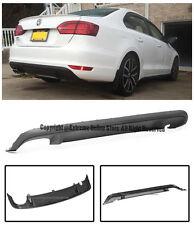 For 11-14 Volkswagen Jetta MK6 GLI Style Rear Bumper Lower Aero Diffuser Spoiler