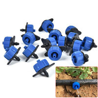 20PCS Adjustable Scattering Watering Dripper Garden Agriculture Irrigation To SE
