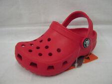 Scarpe zoccolate rossi marca Crocs per bambini dai 2 ai 16 anni