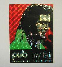 VECCHIO ADESIVO ORIGINALE / Old Original Sticker ELVIS PRESLEY (cm 6 x 8)