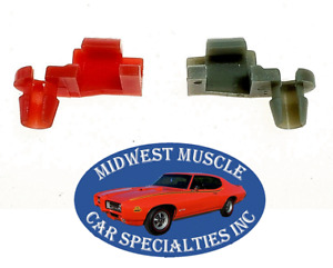 "Dodge Plymouth Chrysler 5/32"" Door Lock Rod Latch Clips Retainer Fastener 2pc KT"