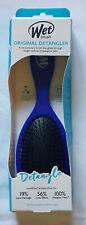 NIP Wet Brush Original Detangler Hair Brush Wet or Dry Royal Blue
