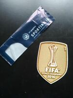 Real Madrid Kit Toppe Patches Badges x maglia calcio FIFA Club World Cup 2016