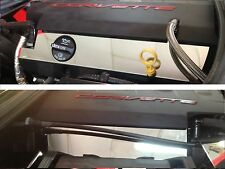 Corvette C7 2014-2017 Polished LOWER FUEL RAIL COVERS (Base) stainless chrome