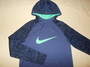 NIKE DRI-FIT PURPLE HOODED SWEATSHIRT WOMENS MEDIUM EXCELLENT CONDITION