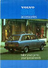 Volvo 66 Accessories 1977 UK Market Foldout Sales Brochure