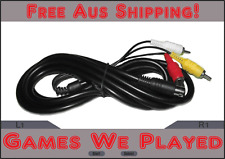 Sega Mega Drive 2 II AV Cables Replacement New Aftermarket