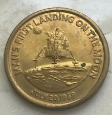 1969 Apollo 11 Landing on the Moon Medal