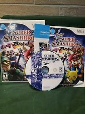 Super Smash Bros Brawl  Nintendo Wii 100% Complete Tested Free Shipping
