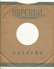 78 RPM Company logo sleeves-POST-WAR- IMPERIAL