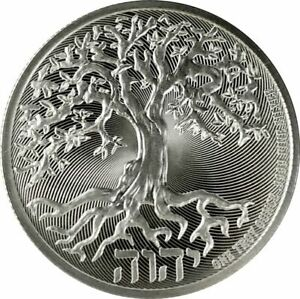 WOW- 2020 -1-OZ  PURE 9999 SILVER - TREE of LIFE COIN - NEW ZEALAND MINT - $9.99