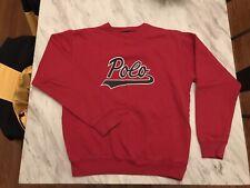 Vintage Polo Ralph Lauren Ski Stadium 1992 Sportsman USA Sport CP Sweater Script