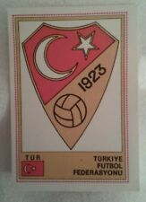 Euro Football Figurine Panini Card No 281 Turkiye Futbol Federasyonu