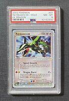 Pokemon PSA 8 Rayquaza Ex Holo Ex Dragon #97/97