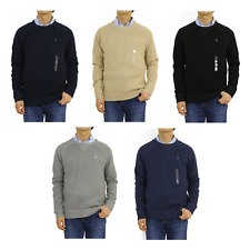 "Polo Ralph Lauren Crew Pullover Sweater w/ ""V"" -- 5 colors --"