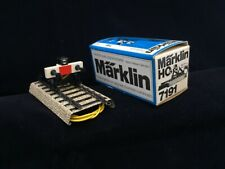 Marklin 7191 Buffer Stop with Working Signal Light in Original Packaging