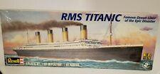 Revell RMS Titanic Ocean Liner 1:570 Scale Model Kit  New  Factory Sealed MINT