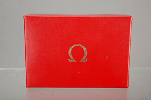 OMEGA Watch Box IN Red from The 60ger Years