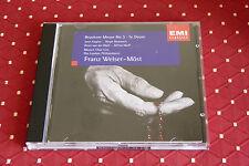 "CD BRUCKNER ""MESSE N° 3 - TE DEUM"" F. WELSER-MÖST LONDON PHILHARMONIC / EMI, TBE"