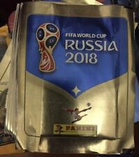 PANINI RUSSIA FIFA WORLD CUP 2018  STICKERS  50 X PACKETS WITH FREE TIN