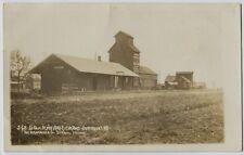 1910 Era St. Paul Railroad Depot Fairmount North Dakota Real Photo Rppc