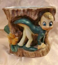 Vintage Pixie Elf Figurine Vase Planter Acme China Made in Japan