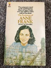 The Footsteps of Anne Frank PB Ernst Schnabel (WW2, Holocaust)