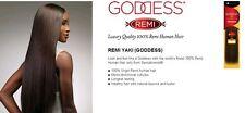brand new sensationnel goddess remi yaki 100% human hair 10inch color 4/27