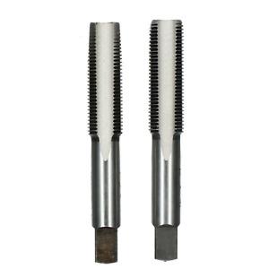 """UNF Taper & Plug Tap Set Tungsten Steel Thread Cutter 10 - 3/4"""""""