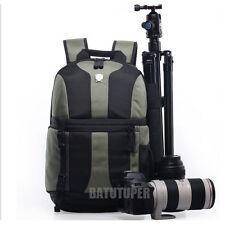 De luxe sac appareil photo reflex numérique Sac à dos Sacoche De Pc Portable