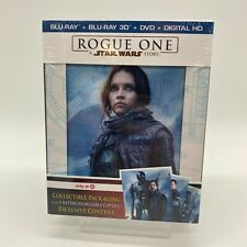 NEW SEALED Rogue One Star Wars Story Target Exclusive Blu-Ray 3D DVD Digital