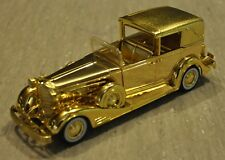 National Motor Museum Mint's 1933 Cadillac Town Car - NIB - GOLD