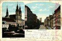 AK Neisse (Nysa) Breslauerstr., Kreuzkirche, 1905, 22/02