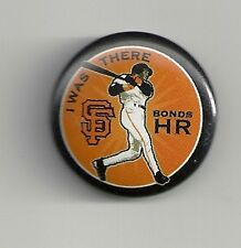 Barry Bonds I Was There Home Run SGA Pin San Francisco Giants